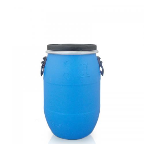 30l Litre Ltr Open Top Plastic Storage Drum Barrel Keg