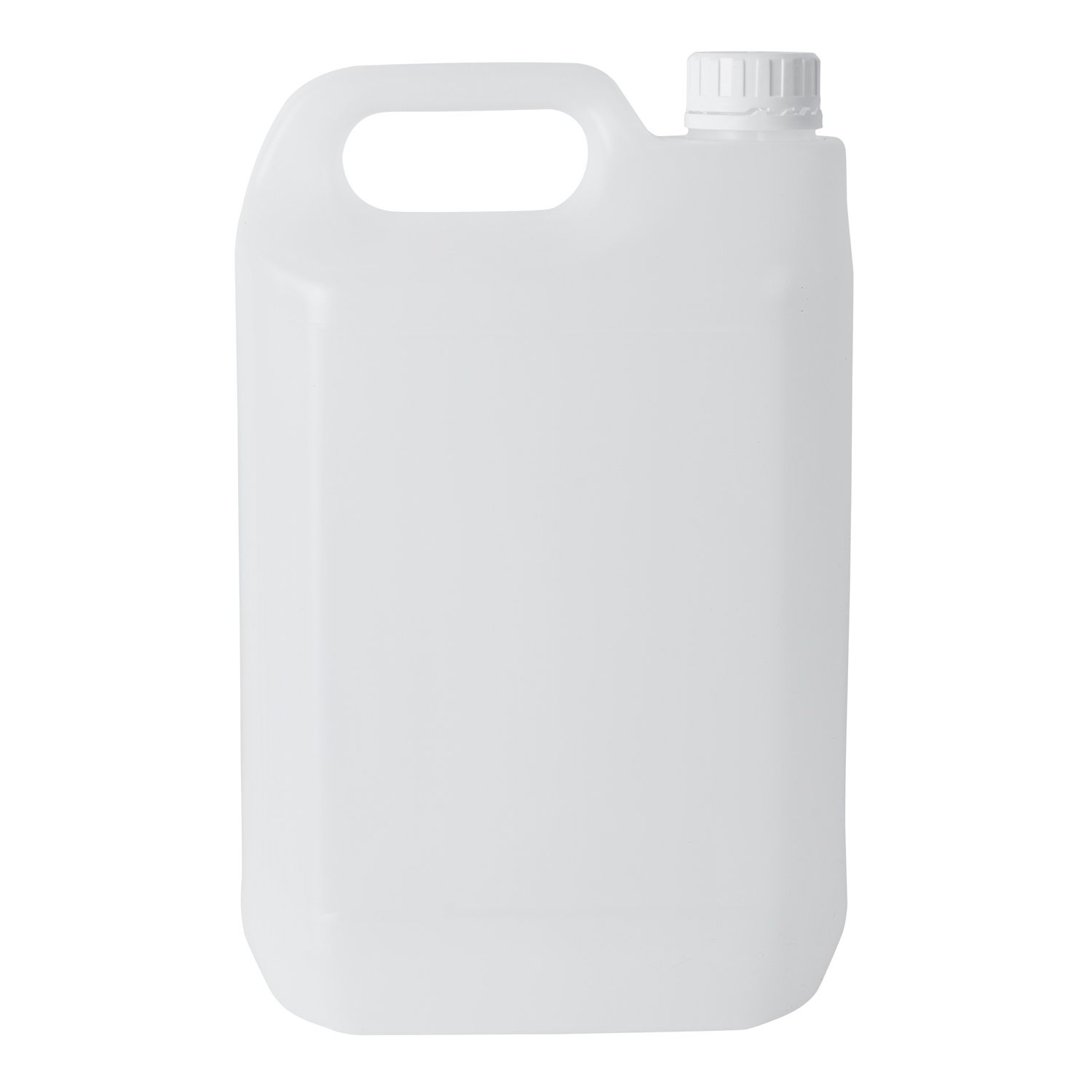 5 Litre Plastic Jerry Can With Tamper Evident Cap