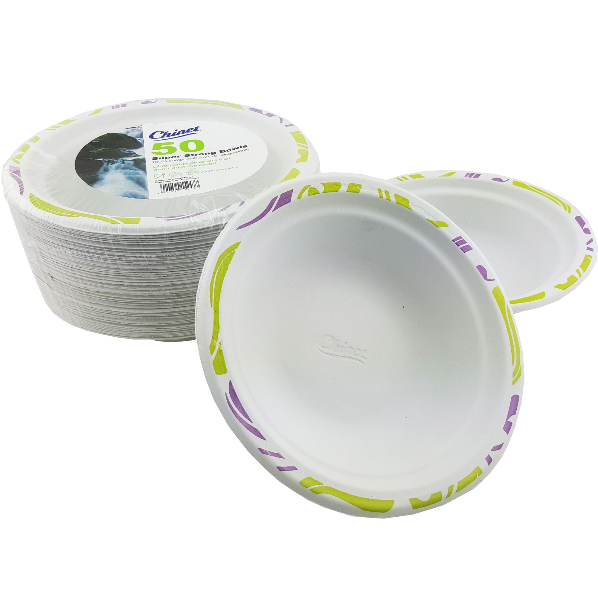 sc 1 st  Bluestar Packaging Supplies & Chinet 17cm 40cl Disposable Microwave Safe Bowls Pack of 50