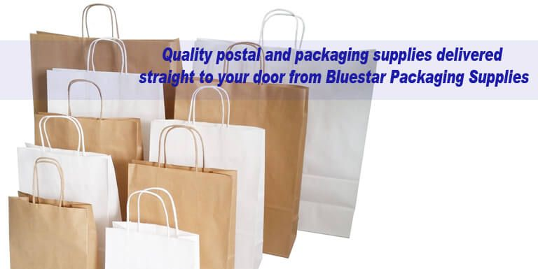 Kraft Paper Flat and Twisted Handle Carrier Bags