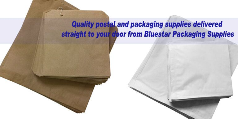 Kraft and White Sulphite Paper Bags